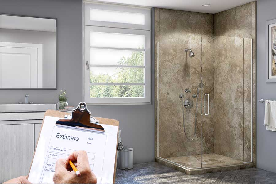 Shower Replacement Estimate